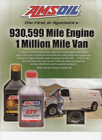 Amsoil Million Mile Chevy