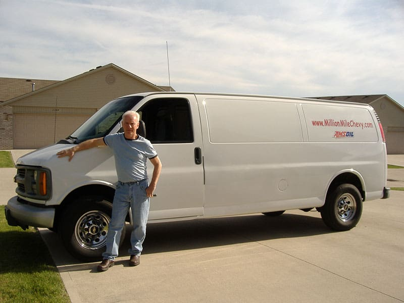 John Schlimmer & Chevy Van